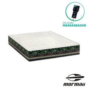Colchão Massageador Casal - Mormaii - Smartzone Bananal 138x188x30cm