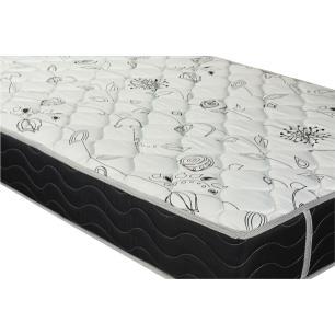 Cama Box Solteiro + Colchão De Molas - Probel - Prodormir Sleep Black 88x188x57cm