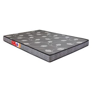Cama Box Casal Compacto (128cm) Branca + Colchão De Espuma D20 - Prorelax - Violeta com Travesseiros