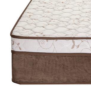 Cama Box Queen Preta + Colchão de Molas Ensacadas Queen - Comfort Prime - Aspen - 158x198x65cm