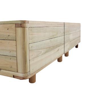 Somiê Cama Box Queen - Lucas Home - Rústica 158x198x37cm