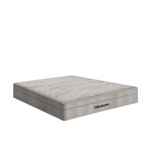 Cama Box Viúva + Colchão De Molas Ensacadas - Ortobom - AirTech SpringPocket 128x188x65cm