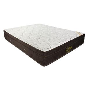 Cama Box Casal + Colchão De Molas Ensacadas - Ortobom - Gold Personal 138x188x63cm