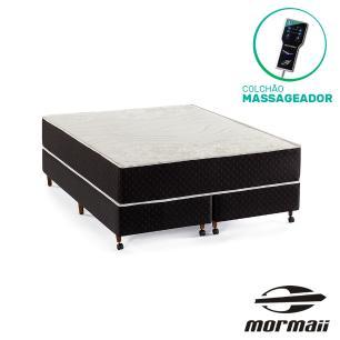Cama Box Queen + Colchão Massageador - Mormaii - Smartzone Lotus 158x198x64cm