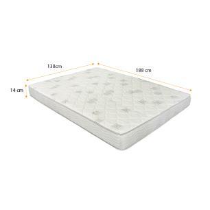 Colchão de Espuma D23 Casal Ortobom – Light D23 138x188x14cm