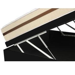 Cama Box Com Baú Viúva + Colchão De Molas Ensacadas - Anjos - Classic - 128x188x64cm