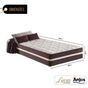 Colchão de Molas Solteiro - Anjos - Classic Superlastic - 88x188x22cm
