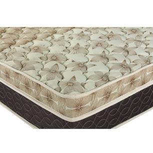 Cama Box Baú King + Colchão Molas Ensacadas - Castor - Class Pocket Híbrido One Face 193x203x67cm