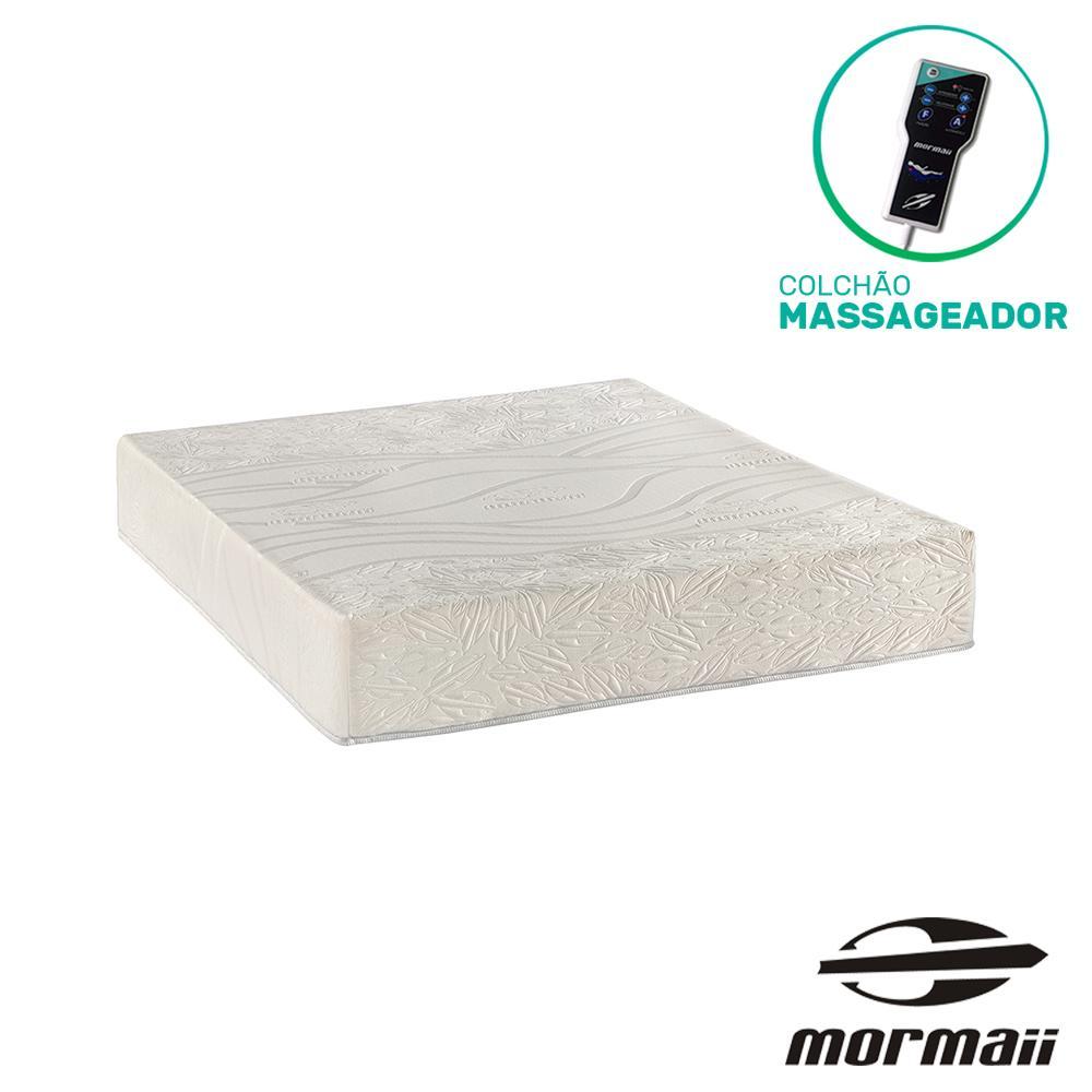 Colchão Massageador Queen - Mormaii - Flutuante Branco 158x198x30cm