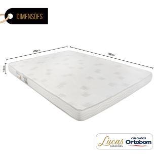 Colchão De Espuma D23 Viúva - Ortobom - Light Liso 128x188x12cm