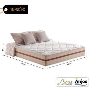 Colchão de Molas Ensacadas Queen - Anjos - Classic 158x198x26cm
