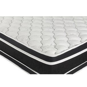 Colchão De Espuma D33 Super King - Castor - Black & White Double Face 193x203x27cm