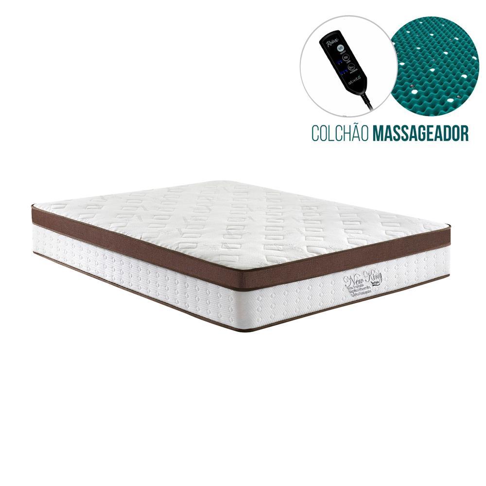 Colchão Magnético Casal - Anjos – New King Magnético Massageador  - 138x188x30cm