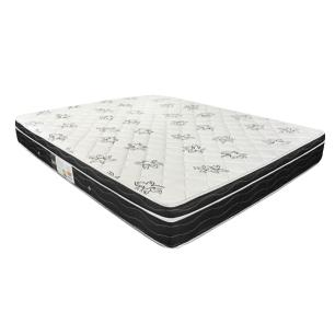 Cama Box Com Baú Casal + Colchão De Molas - Ortobom - Physical Nanolastic - 138x188x65cm