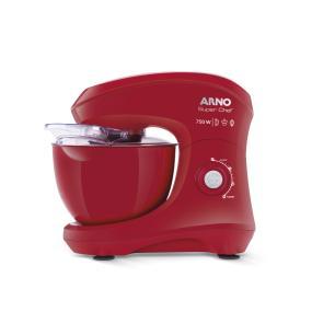 Batedeira Planetária Arno Super Chef 750W 5L  Vermelha KM02