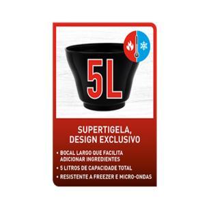 Batedeira Arno Chef 400W 5 Litros Preta SM01