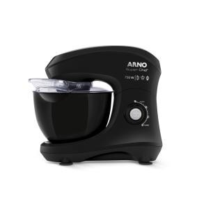 Batedeira Planetária Arno Super Chef 750W 5L Preta KM01