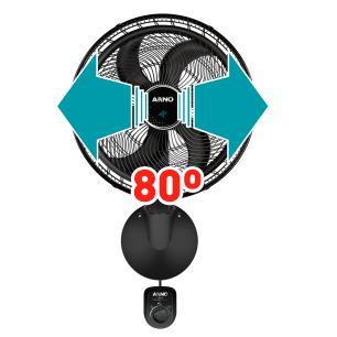 Ventilador Arno Ultra Silence Force De Parede 50Cm Vd51