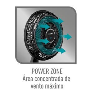 Ventilador Mesa Arno Ultra Silence Force Desmontável Vd40