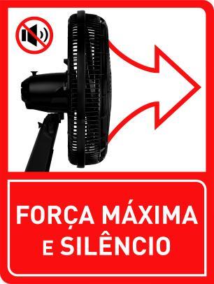Ventilador Arno Turbo Force De Mesa 40Cm Vf49