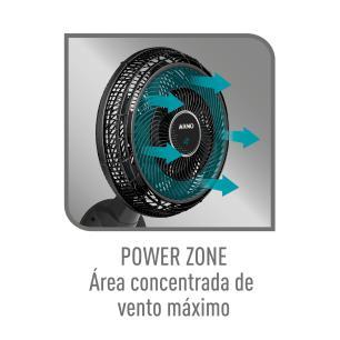 Ventilador Parede Arno Ultra Silence Force Desmontável  Vd4P