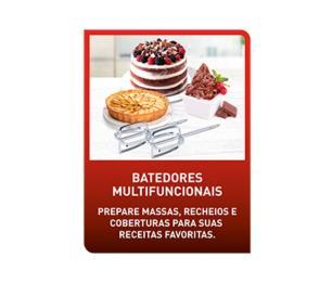 Batedeira Arno Chef 400W 5 Litros Branca SM00