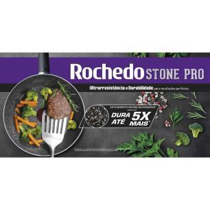 Frigideira Francesa Rochedo Stone Pro 28