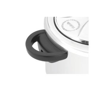 Panela de Pressão Turbo Polida 4,5L Fechamento Interno