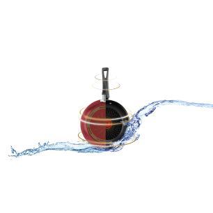 Frigideira Francesa Rochedo Limpa Fácil 22 Cm Vermelho