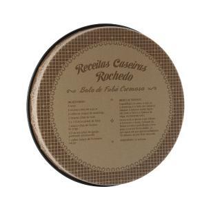 Forma Redonda Rochedo Aroma e Sabor 30cm