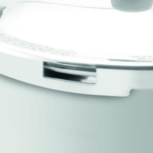 Panela de Pressão Rochedo Turbo Top Polida 7,6L