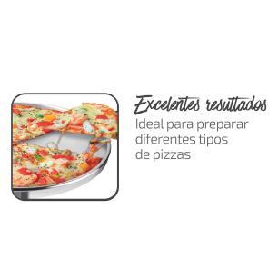 Assadeira Pizza Rochedo Dura e Polida 35
