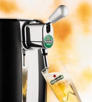 Chopeira Beertender Krups Heineken B101