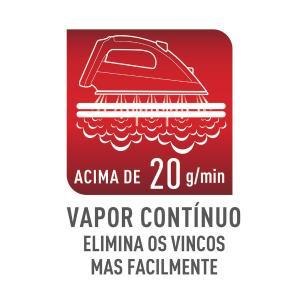 Ferro A Vapor Elétrico Arno Steamgliss Fsgp