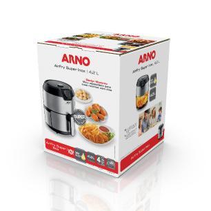 Fritadeira Elétrica Sem Óleo Arno Airfry Super Inox