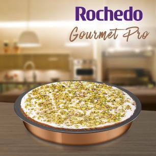 Assadeira Redonda Rochedo Gourmet Pro Rev