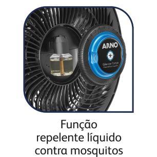 Ventilador Arno Silence Force Repelente Líquido Vf55