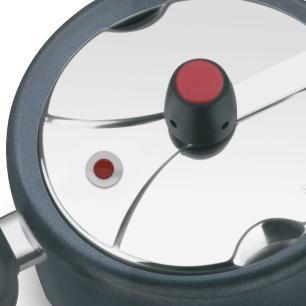 Panela De Pressão Clock Revestida 3,0L