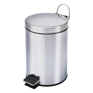 Lixeira aço inox de 3 litros com cesto removível Travel Max