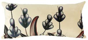Almofada Flor-60 x 30-Com Enchimento-Veludo