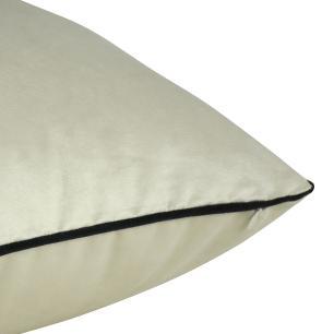 Almofada Arabesco Preto 50 x 50 Com Enchimento Veludo
