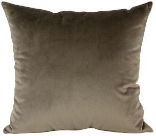 Almofada Marrom-50 x 50-Com Enchimento-Veludo