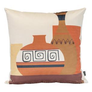Kit de Almofadas Decorativas Boho Africanas 50 x 50 Com Enchimento Veludo