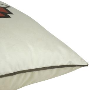 Almofada Decorativa Imperial Marsala 45 x 45 Com Enchimento Veludo