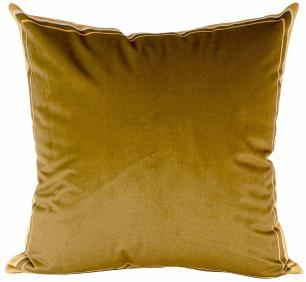 Almofada Decorativa Dourada-45 x 45-Com Enchimento-Veludo