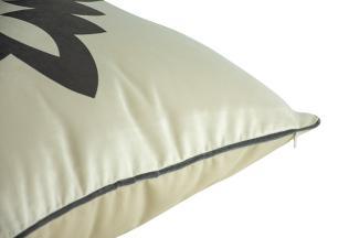 Almofada Formas Preta Veludo - 50x50