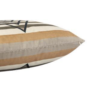 Almofada Escandinava Geométrica 45 x 45 Com Enchimento Veludo