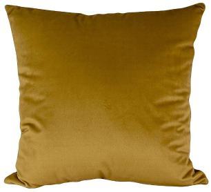Almofada Mostarda-Com Enchimento-50 x 50-Veludo