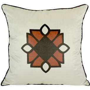 Almofada Decorativa Imperial Marsala 50 x 50 Com Enchimento Veludo