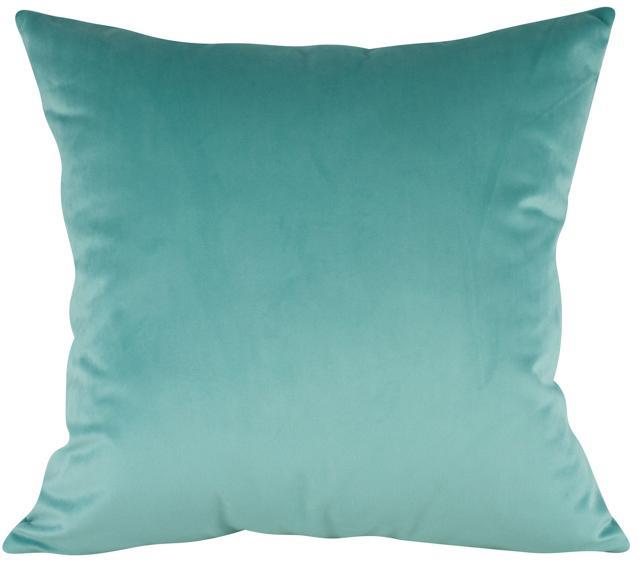 Almofada Azul Tiffany Veludo 50 x 50